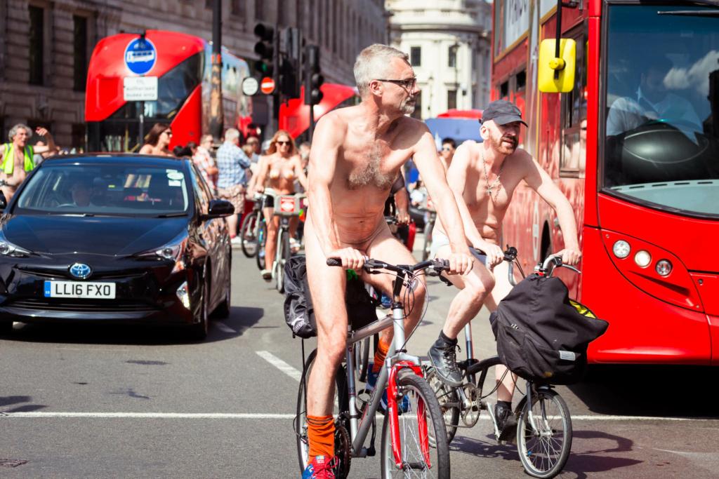 Велопробег против загрязнения