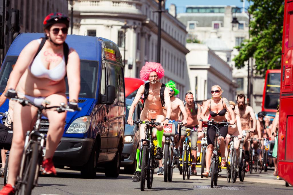 Велопробег против загрязнения воздуха