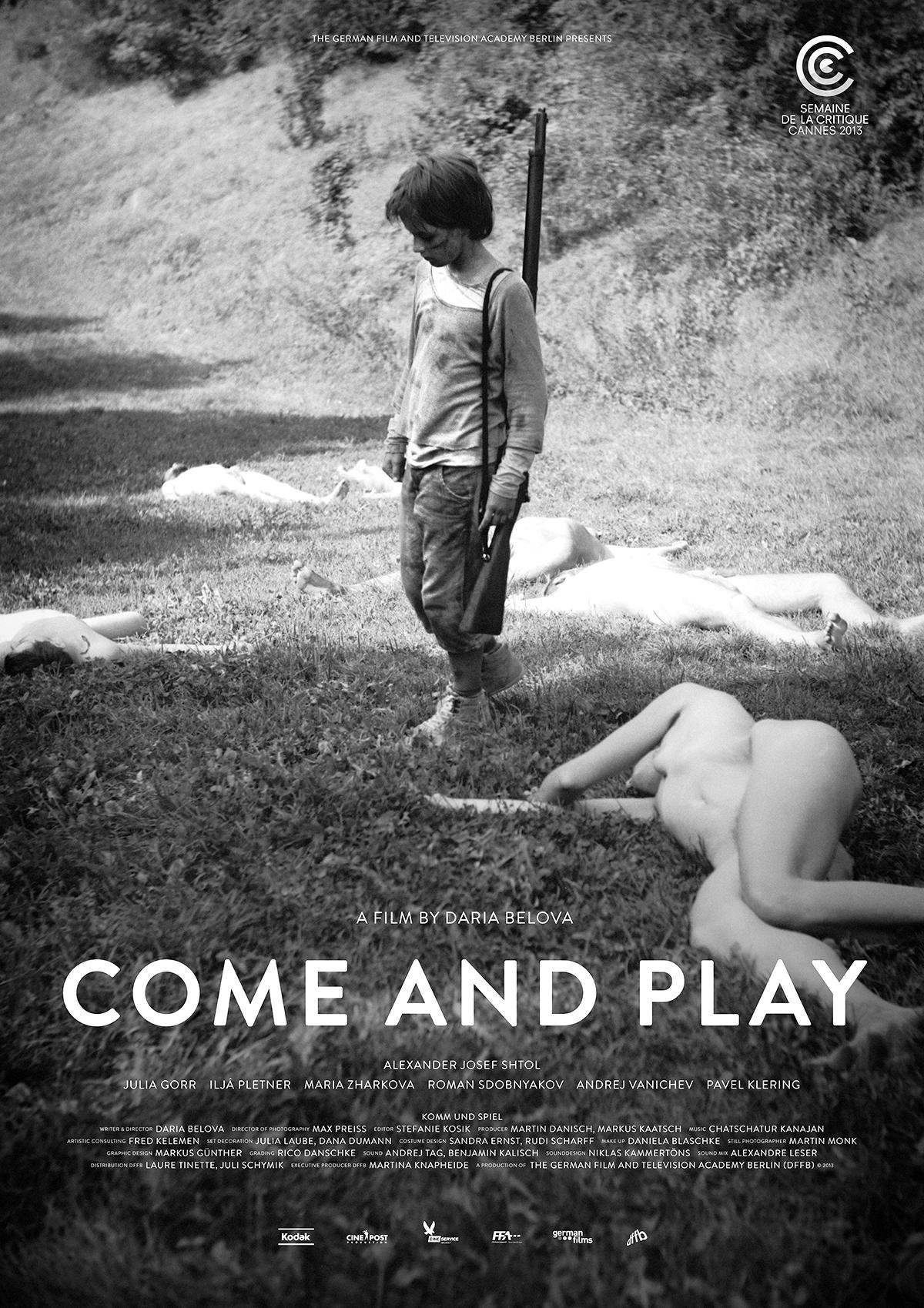 Официальная афиша фильма Come And Play