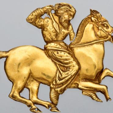 В Британском музее покажут татуированный кусок кожи скифского воина