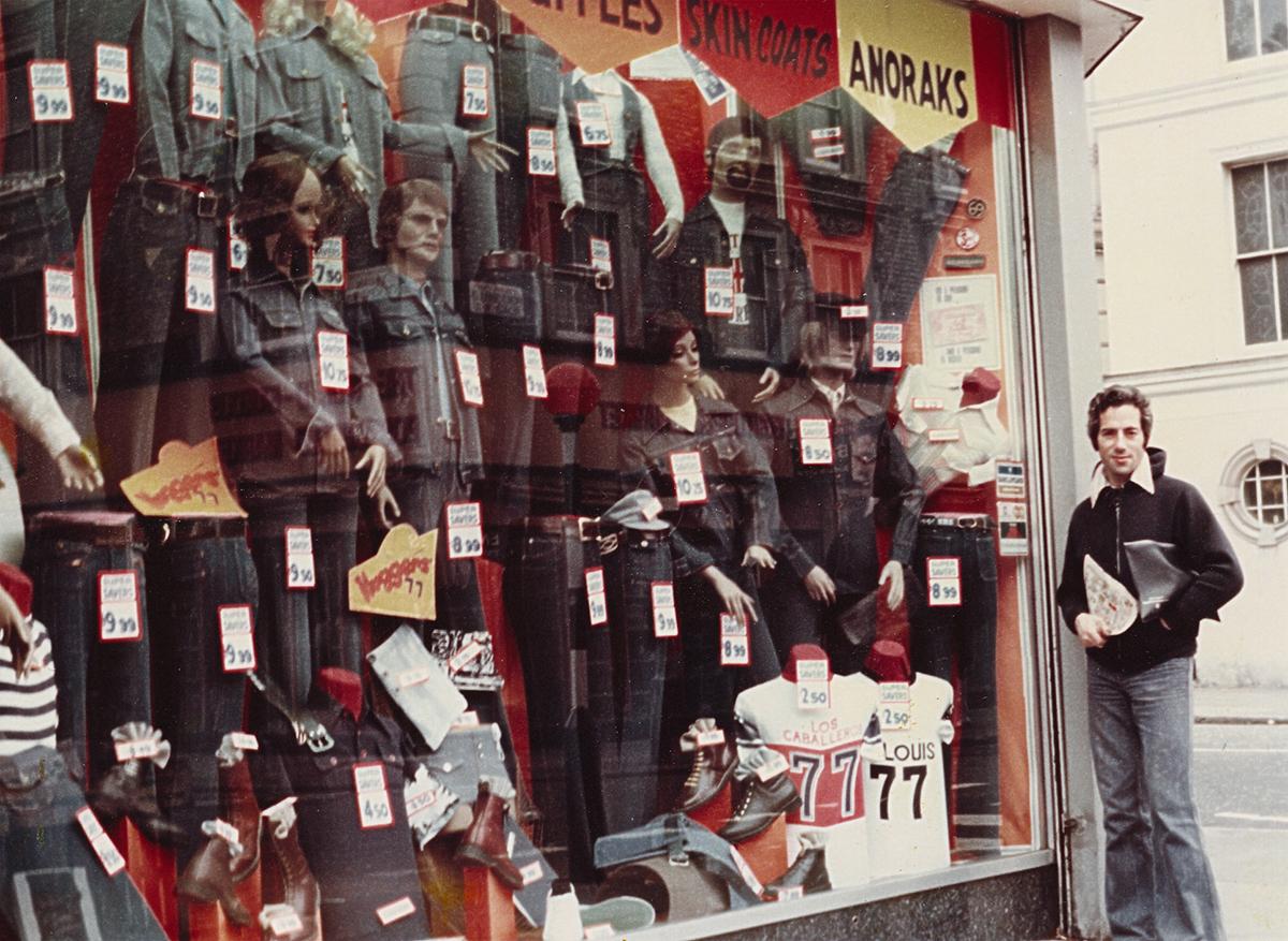 Магазин джинсов на Портобелло-роуд, 1977