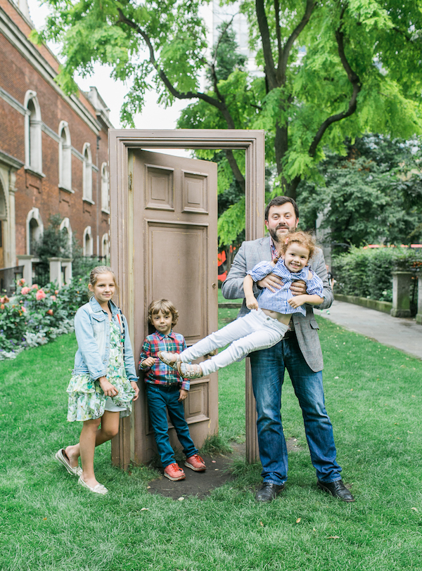 Папы и дети в Лондоне
