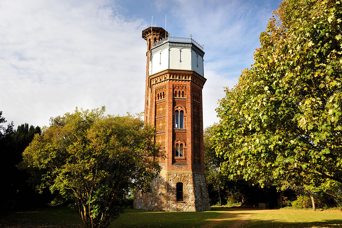 Appleton Water Tower Сандрингем