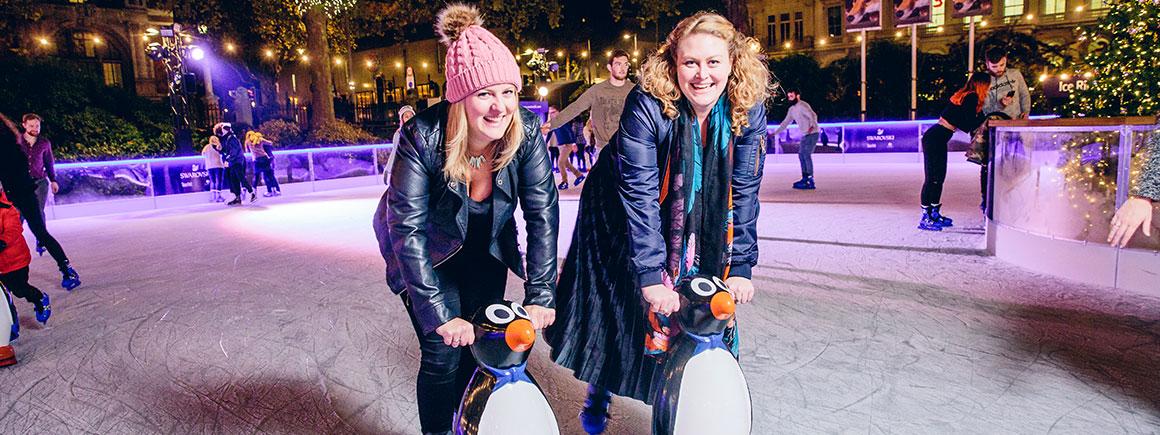 Где кататься на коньках в Лондоне