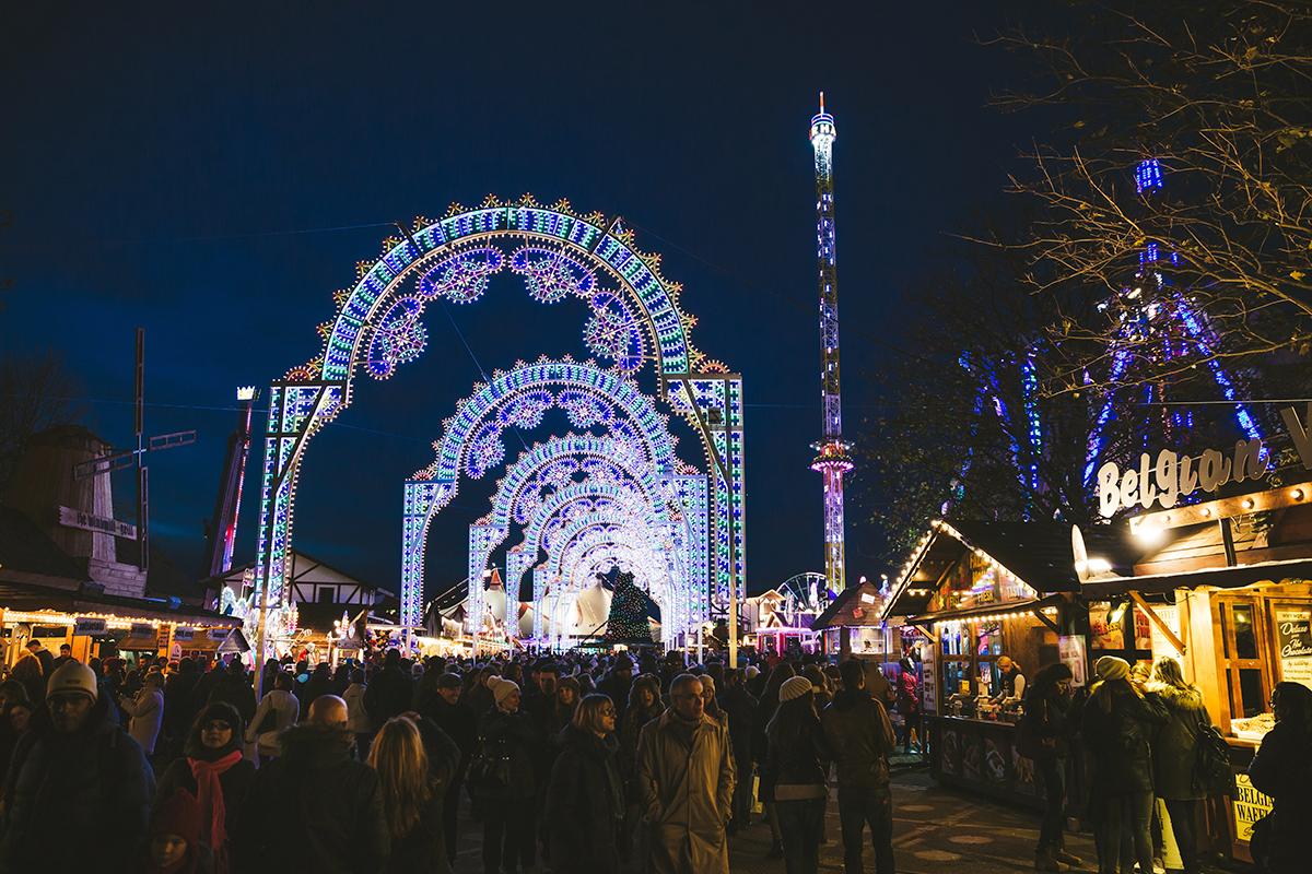 Рождество в Лондоне. Winter Wonderland в Гайд-парке