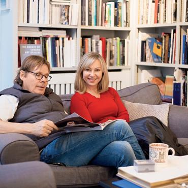 Пудинг или оливье? Как празднуют Рождество известные лондонские пары, где она русская, а он — британец