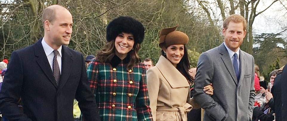 Жительница Норфолка сделала лучшую фотографию с рождественской службы королевской семьи