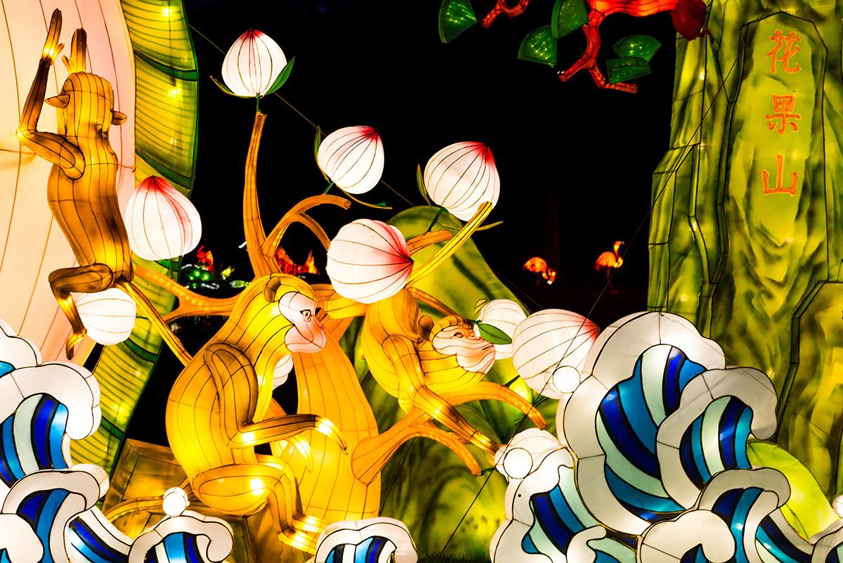 Рождество в Лондоне. Magic Lantern Festival в Chiswick House