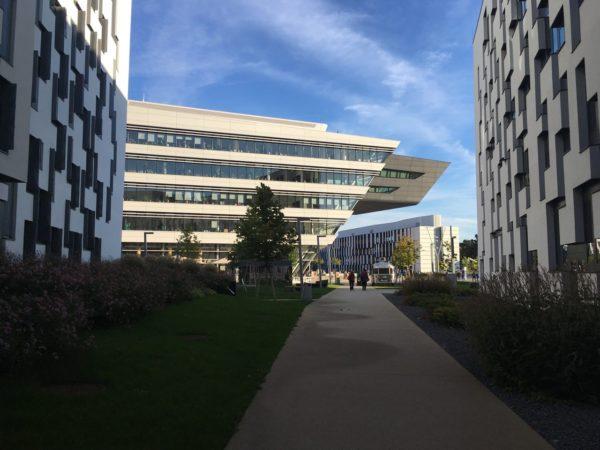 Кампус экономического университета (WU Vienna)