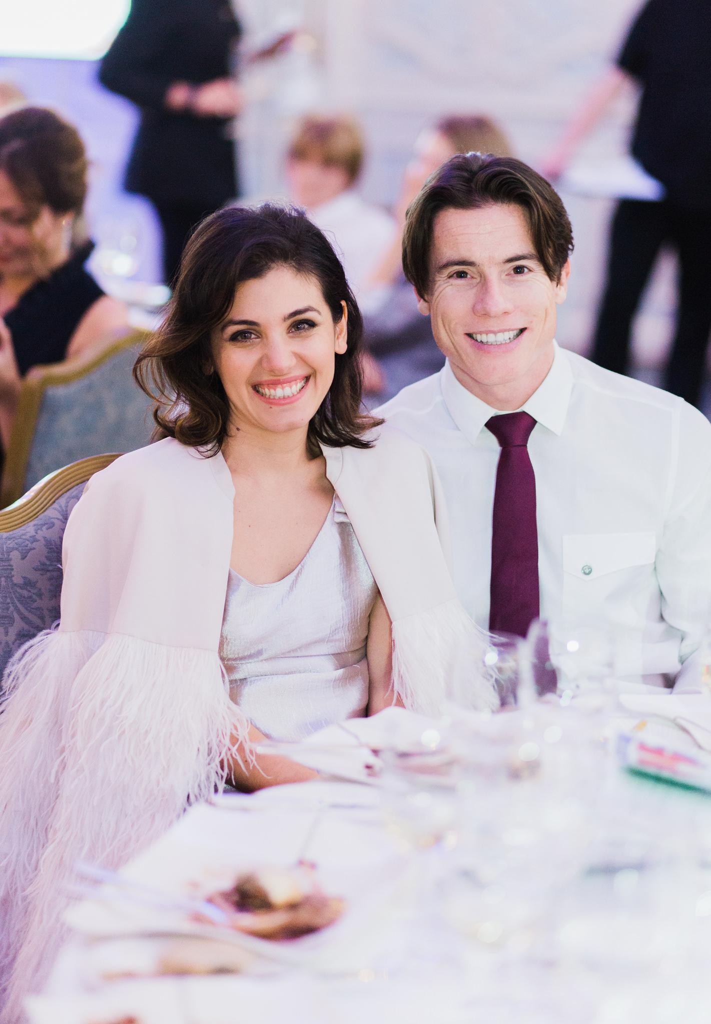 Кэти Мелуа и ее муж Джеймс Тоузленд