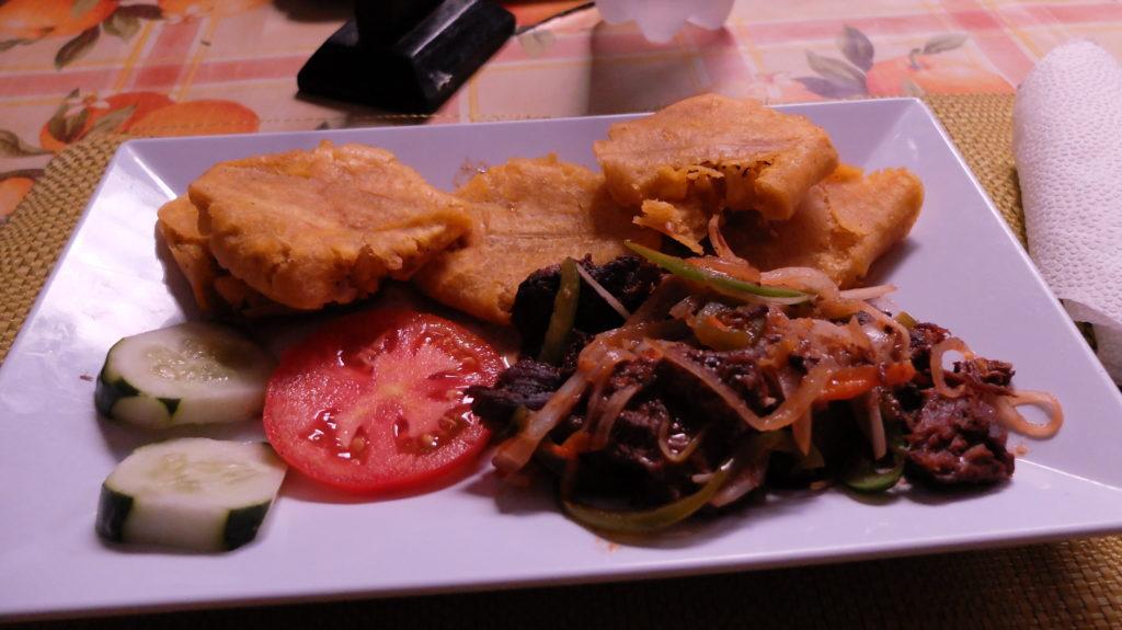 Гаити еда