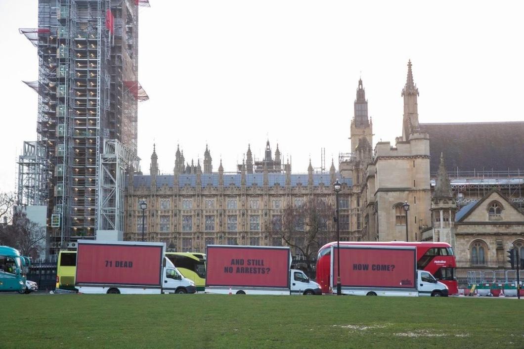 Три билборда Гренфел-тауэр