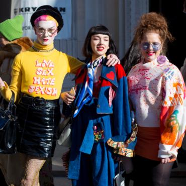 Фрики Лондонской недели моды. Во что одеваются люди, которые ходят на London Fashion Week
