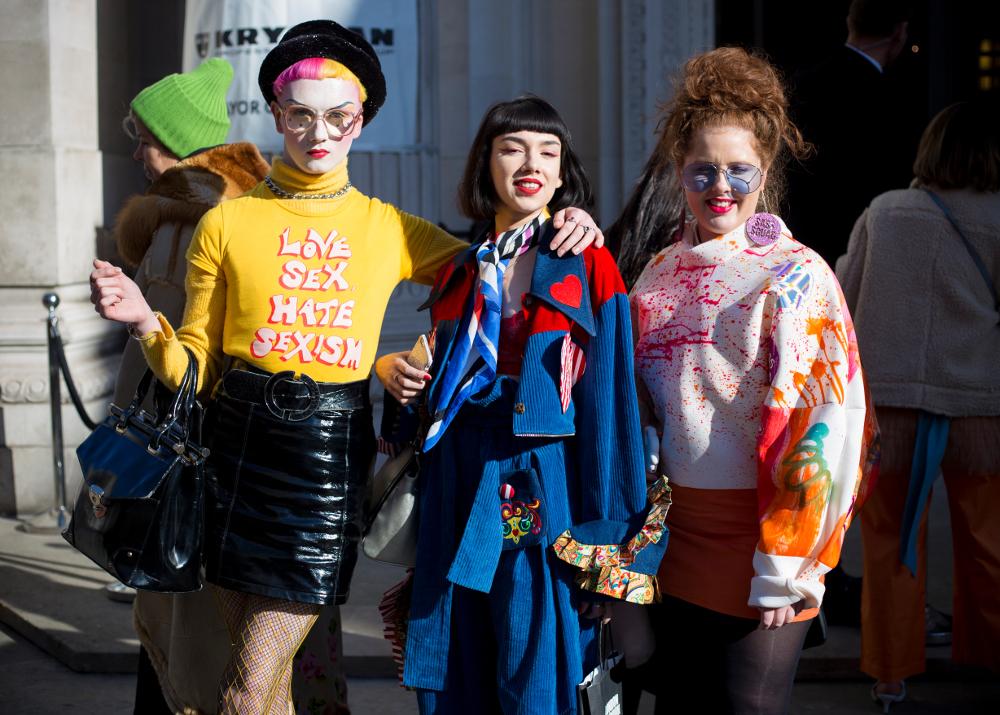 Фрики Лондонской недели моды