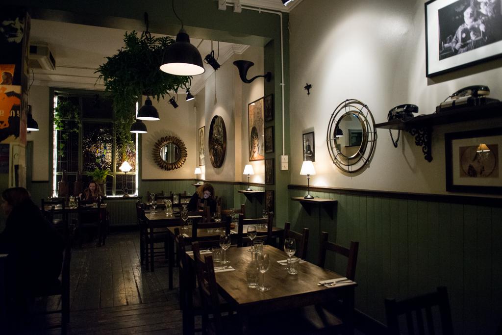 грузинский ресторан в Лондоне