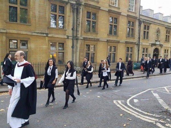 Оксфорд и Хогвартс