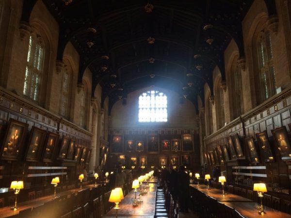Оксфорд и Хогвартс столовая