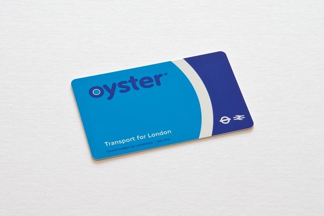 Билет в метро Лондон