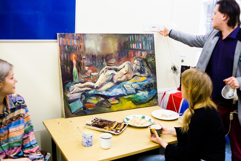Антисквот в здании University of Westminster. Как живется художнику в центральном Лондоне
