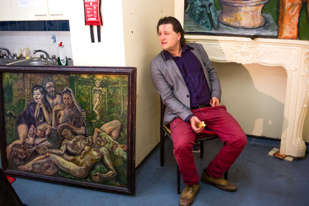 Антисквот в здании University of Westminster. Как живется художнику в центральном Лондоне за £600