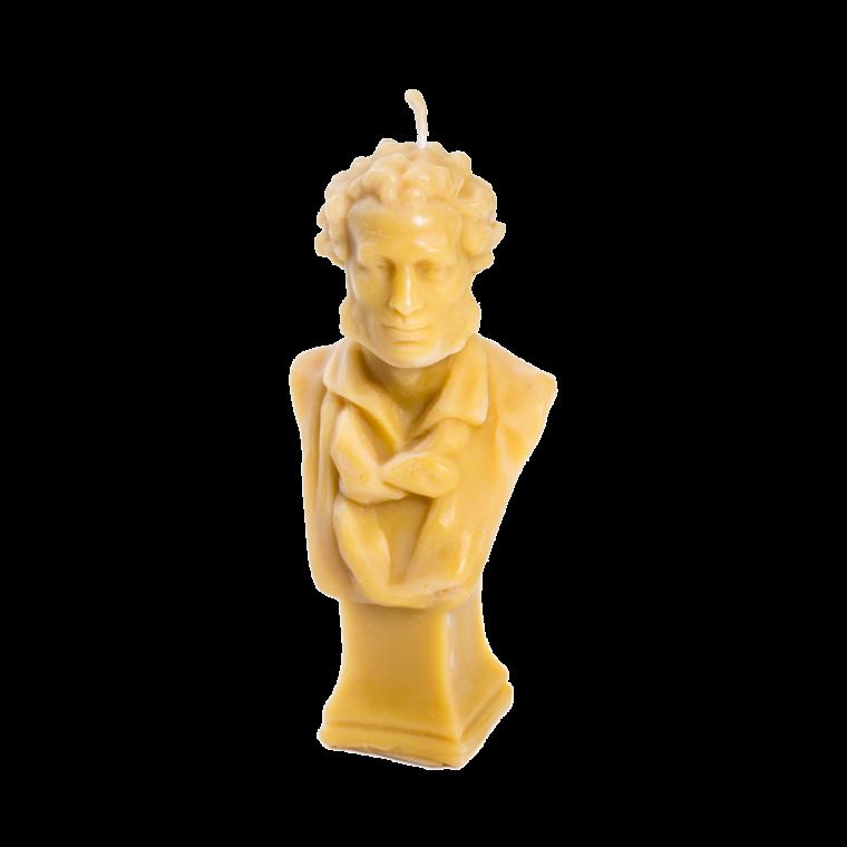 """СКИДКА 30% Скульптура-свеча """"А. С. Пушкин"""""""