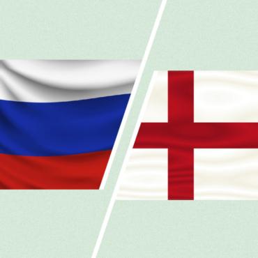 За кого вы будете болеть, если Россия будет играть с Англией? (опрос)