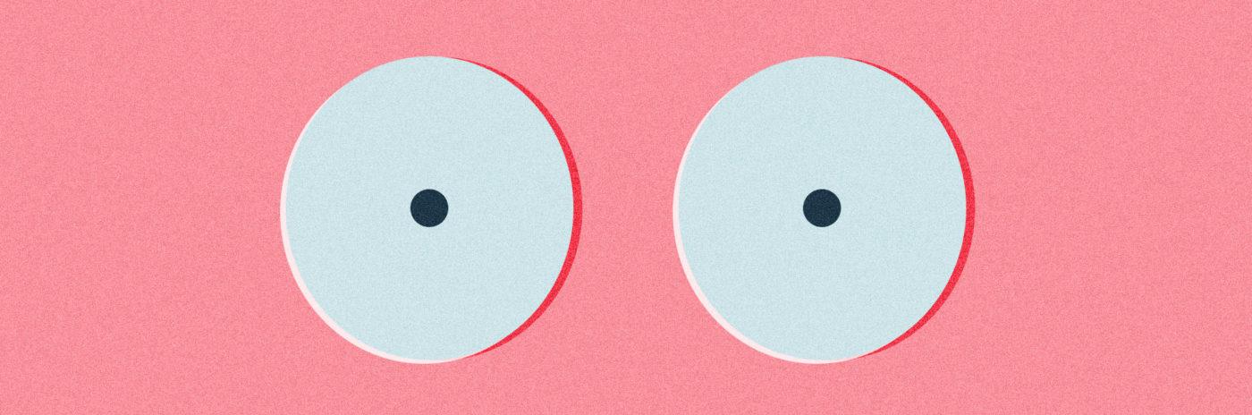 Разные формы женских грудей частное фото — 6