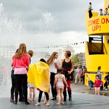 Спастись от жары. 8 фонтанов в Лондоне, где можно купаться