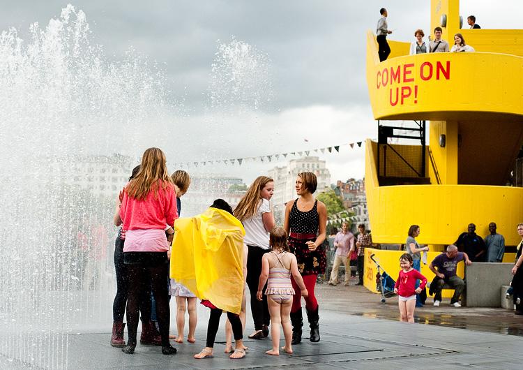 фонтанты в лондоне