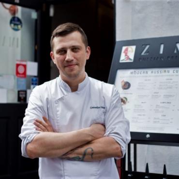 «Лучше наших пирожков в Лондоне нет». Интервью с шеф-поваром ресторана ZIMA Тимуром Лясниковым