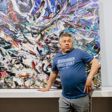 Художник Алексей Фирсов и его вдохновение на 56-й широте