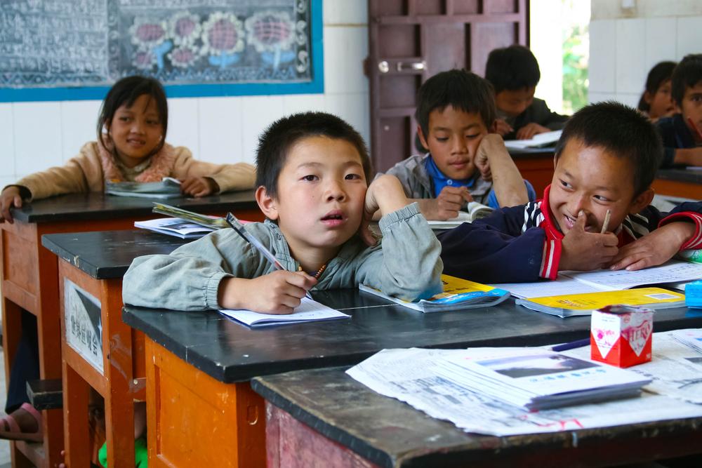 Как учатся китайские дети