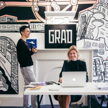В расписных стенах: новый офис проекта Grad в Somerset House