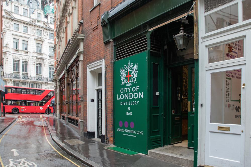 Единственное место в лондонском Сити, где производят джин