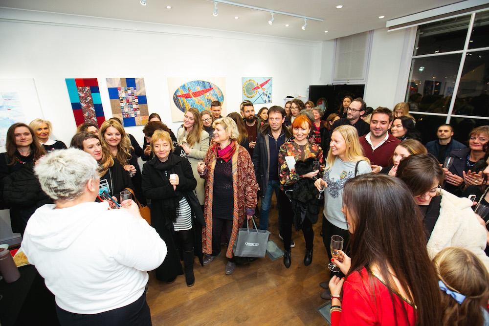 Выставка Ольги Солдатовой в Лондоне