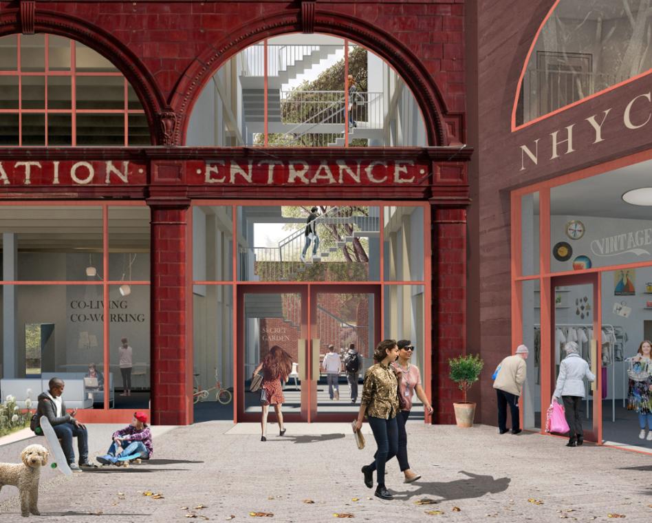 На заброшенной станции лондонского метро появится центр социальной помощи бездомным