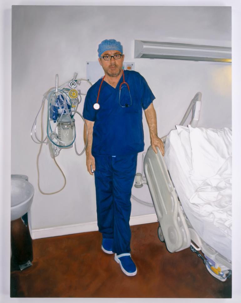 Дэмиен Херст. «Автопортрет в образе хирурга», 2006
