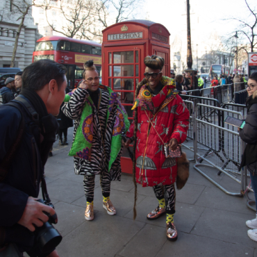Где заканчивается протест и начинается мода? Фото с London Fashion Week 2019