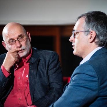 Как экономист Гуриев и писатель Акунин обсудили Трампа, коррупцию и «Брекзит» (конспект)