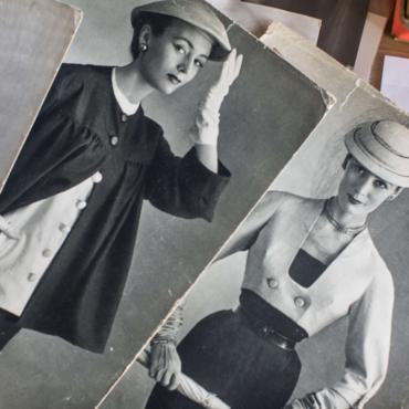 Как простая девушка Джин Доунэй стала первой английской моделью Диора и княгиней Голицыной