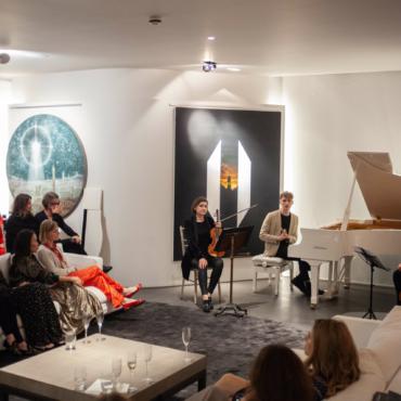 Кирилл Рихтер: концерт в Лондоне для друзей ZIMA