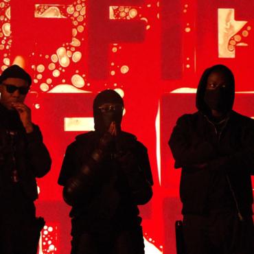 Что художник Андрей Молодкин сделал с кровью британских рэперов (фото, видео)