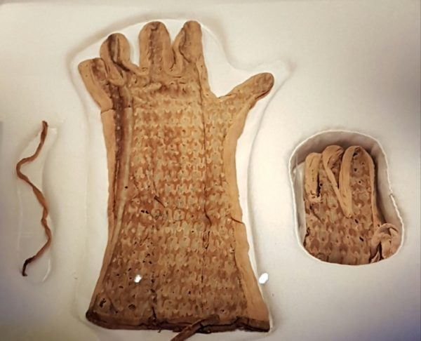 Льняные перчатки Тутанхамона