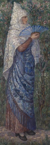 Испанка - картина Натальи Гончаровой