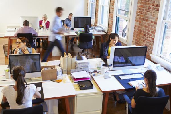 Все работают в офисе