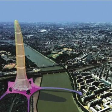 Несбывшийся Лондон: 14 необычных зданий и сооружений, которые не были построены