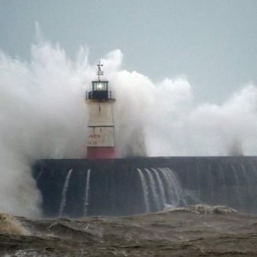 Ураган Ciara: как это выглядит (фото, видео)