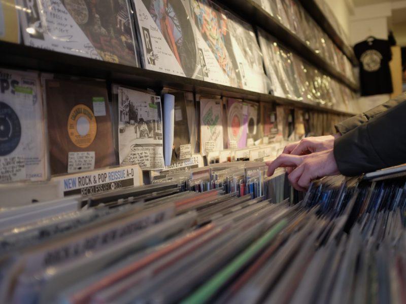 магазин винила reckless records