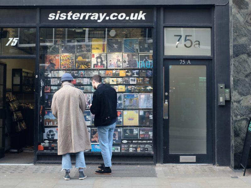 магазин винила sisterray