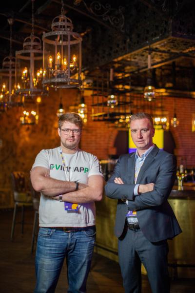 Александр Фокин (слева) и Сергей Адаев, основатели ViewApp